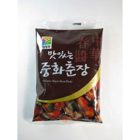 Pasta z černých fazolí 250g