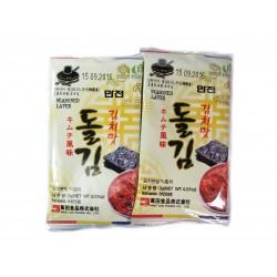 Mořské řasy KIM (NORI) s příchutí kimči 2g x 8