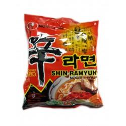 Polévka nudlová Ramjon Shin silně pálivá 120g